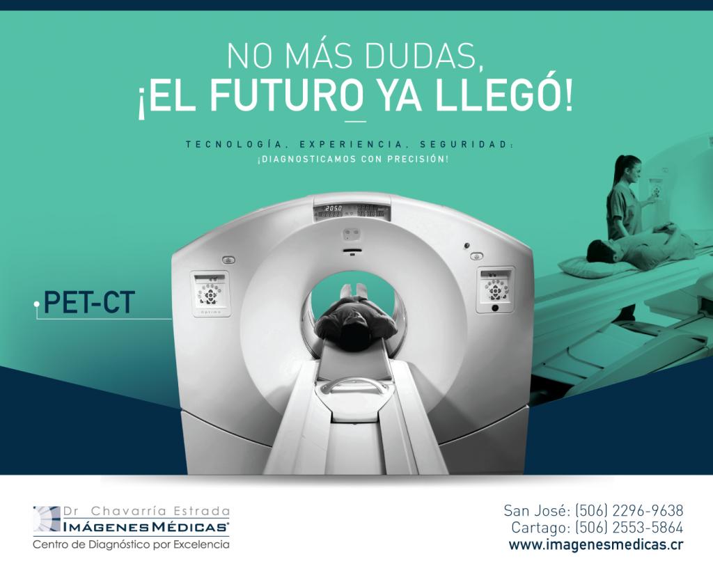 El Futuro ya Llegó, Nuevo PET/CT